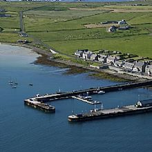Westray Marina in Orkney - Click for larger version
